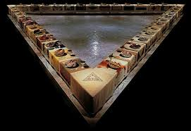 Image result for judy chicago dinner party