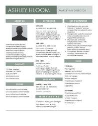 contemporary resume templates • hloom comslated for the job