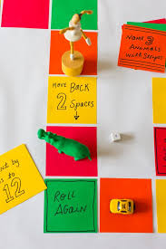 Table Top Board Game . Activities for Kids: Adventures In Learning ...