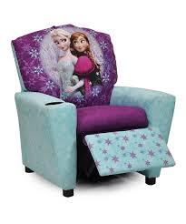 Purple Bedroom Chairs Frozen Blue Purple Elsa Anna Recliner Blue Frozen And Recliners