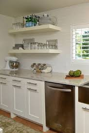kitchen floating shelf