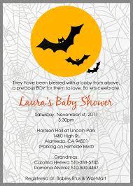 Halloween Baby Shower Invitation Template Halloween Ba Shower ...