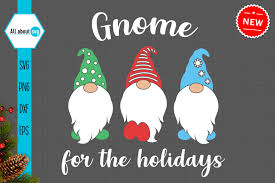 Some gnome svg may be available for free. Gnome For Holidays Svg Graphic By All About Svg Creative Fabrica