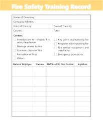 training record template employee training matrix template excel beautiful