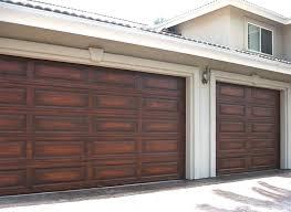 faux wood garage doors s more