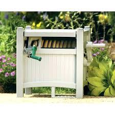 water hose caddy garden hose garden hose storage garden hose rack reel with slide guide portable water hose caddy
