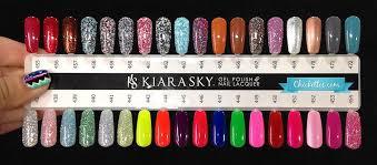 Kiara Sky Color Swatches 2 In 2019 Kiara Sky Gel Polish