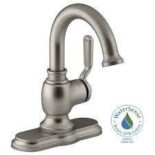 Bathroom Faucet Kohler Worth Single Hole 1 Handle Bathroom Faucet In Vibrant
