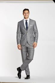 Light Grey Suit At Night Textured Gray Suit Jacket Grey Suit Men Mens Fashion