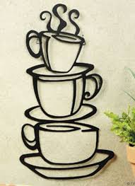 coffee themed kitchen decor details about metal hanging stacked coffee cup kitchen wall decor on wall art for kitchens metal with metal hanging stacked coffee cup kitchen wall decor pinterest
