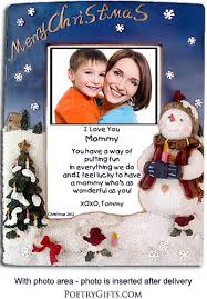 mommy gifts merry christmas frame
