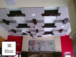 a false ceiling has become an integral part of designing of your interior spaces the materials used for false ceilings are quite many