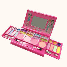 princess makeup set for kids cosmetic s kit miniature eyeshadow lip gloss blushes beauty decoration toys