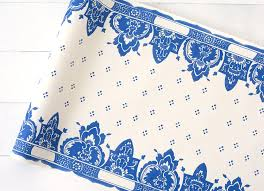 Designer Paper Placemats China Blue Paper Table Runner In 2019 Products Paper