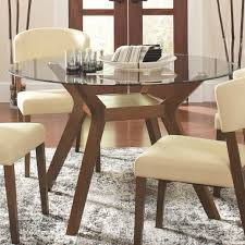 Round Glass Tables For Kitchen Paxton Round Glass Dining Table Coaster 122180