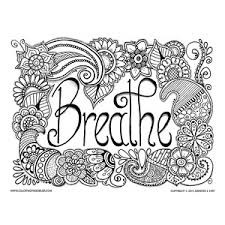 Small Picture Free Coloring Pages Relaxing colors Breathe and Adult coloring