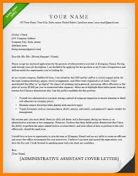 10 Sample Cover Letter Administrative Assistant Sap Appeal