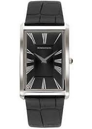 <b>Часы Romanson TL0390MW</b>(<b>BK</b>) - купить мужские наручные <b>часы</b> ...