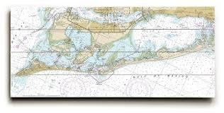 Fl Anna Maria Island Longboat Key Fl Nautical Chart Sign