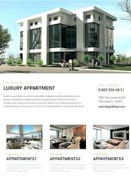 Apartment Flyer Template For Rent Natural House Poster H On