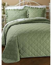 Don't Miss This Bargain: Quilted Bedspread by Haband, Sage Size Twin & Quilted Bedspread by Haband, Sage Size Twin Adamdwight.com