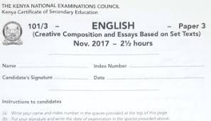 How To Revise A Paper How To Revise For Kcse English Examinations And Sample