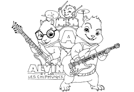 alvin chipmunks coloring pages bebo pandco alvin and the chipmunks coloring sheets 701 x 482 pixels