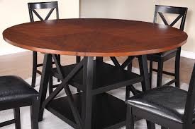 coaster furniture 104178 austin counter height table rustic oak black