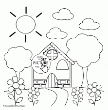 Spring Coloring Pages For Kids Unique Spring Coloring Pages Rabbit