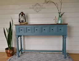 Kitchen Table Contemporary Grey Furniture Paint Distressed Wood