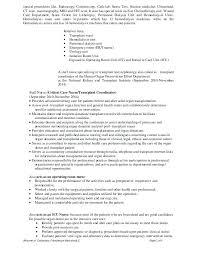 Emergency Room Nurse Resume Template Sample Resumes For Registered Nurses Registered Nurse Resume