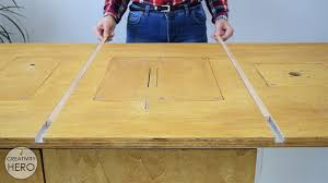 how to make a crosscut sled with flip stop block free plans 7