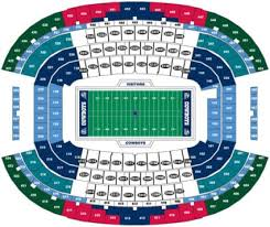 Dallas Cowboys Seating Chart Dallas Cowboys Tickets 71 Hotels Near At T Stadium View