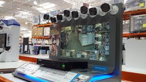 surveillance camera costco. Plain Costco Monitor What Matter Most To You With The Lorex Surveillance System LHD818 Throughout Camera Costco C