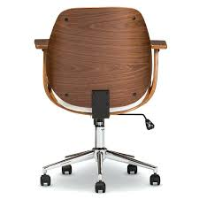 modern office chair studio walnut modern office chair free today modern desk chair with wheels