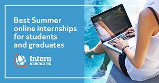 virtual summer internships 2021 best