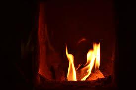 Kleiner Shabby Salon Feuer