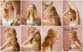 Tutoriály 1 Jednoduché účesy S Rozpuštěných Vlasů Blogerkycz