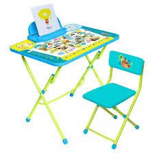 <b>Набор мебели Ника</b> Пушистая Азбука (стол с мягким стульчиком ...