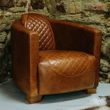 austin leather sofa range leather tub chair quilted leather chair curiosity interiors