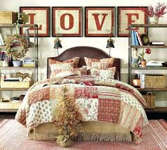 Free Christmas Bed Quilt Patterns Christmas Home Tour 2015 Christmas