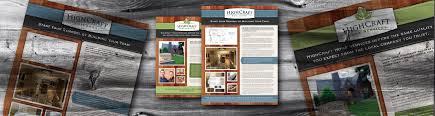Design Build Fort Collins Advertising Design For Highcraft Builders Graphic Design