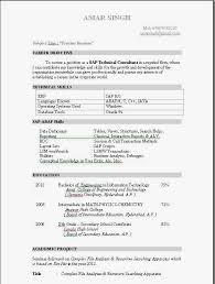 Fresher Resume Template Best of Resume Template Fresher Resume Templates Template Commily