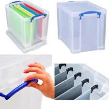 File holder box Folders Image Is Loading Filestorageboxa4officestrongplasticlarge Ebay File Storage Box A4 Office Strong Plastic Large Files Folder Holder