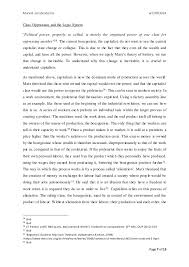 an essay applying the classical theory on marxist jurisprudence to th   7