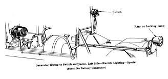 model t ford forum running a generator no battery now the parts book describes using a bosch no battery generator the wiring diagram looks like this