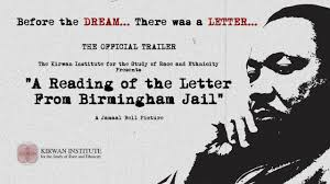 Official Trailer A Reading Of The Letter From Birmingham Jail