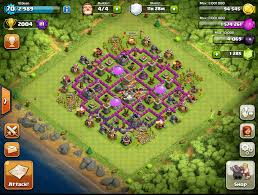 Clans Of Clans Base Design Clash Of Clans Hybrid Base 4 Steps Instructables