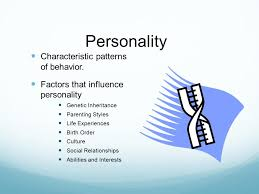 Patterns Of Behavior Simple Personality Characteristic Patterns Of Behavior Factors That