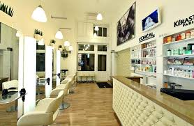 Hair salons ideas Salon Design Hair Salon Design Ideas Salons Design Ideas Glamorous Hair Salon Interior Design Ideas With Tufted Reception Hair Salon Design Ideas Lockhart Meyer Hair Salon Design Ideas For Interior Peach Chairs With Decorative